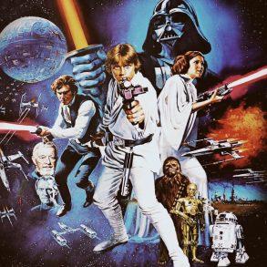 Poster till Star Wars.