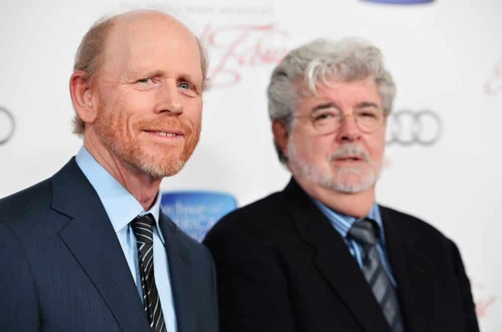 Ron Howard och George Lucas.