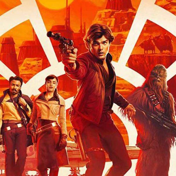 En poster till Solo: A Star Wars Story.
