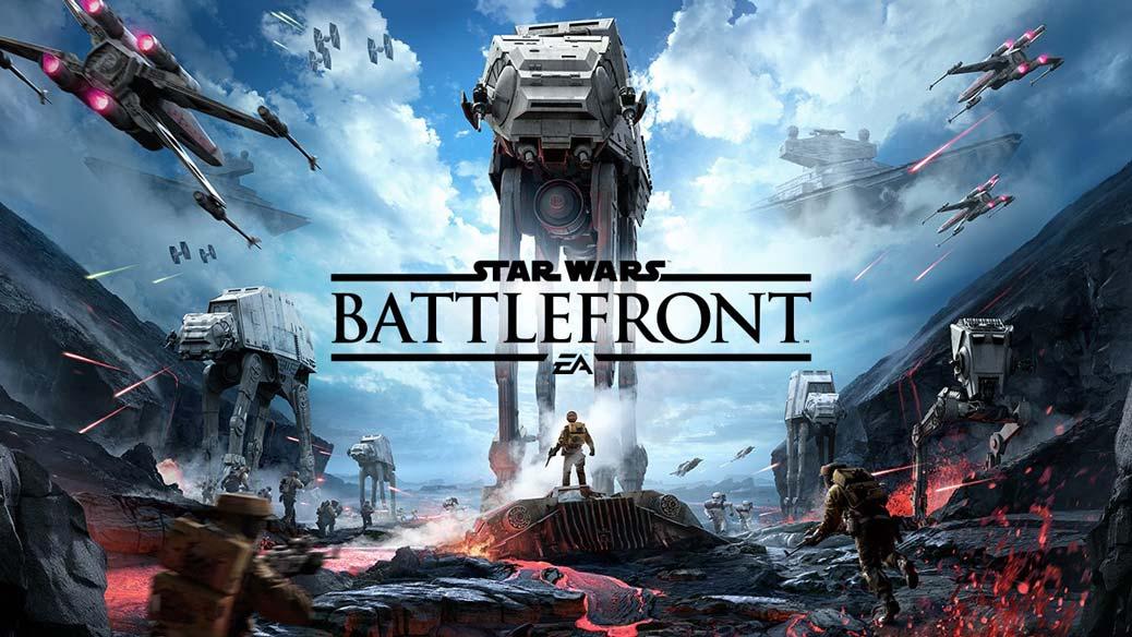 Battlefront ett Star Wars spel som är ett riktigt bra filmspel.