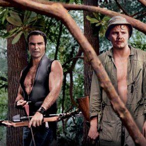 """Burt Reynolds och Jon Voight i """"Den sista färden"""" av John Boorman"""