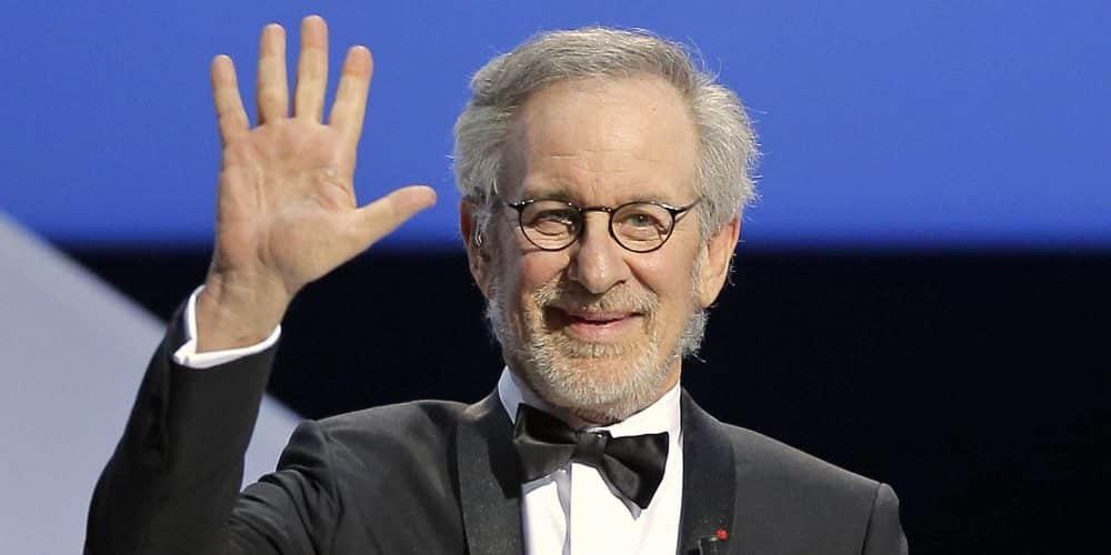 Regissören Steven Spielberg på gala
