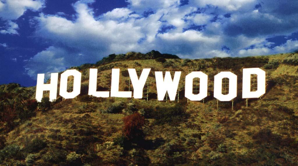 Bild på Hollywood-skylten